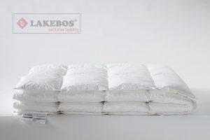 Lakebos synthetisch dekbed